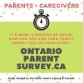 Ontarioparentsurvey.ca